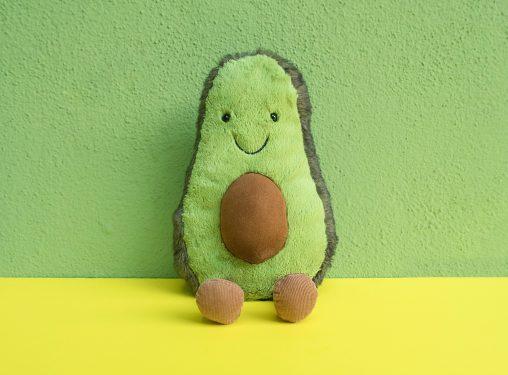 an avocado toy