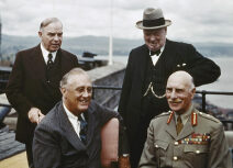 thumbnail_The Quebec Conference Canada, August 1943