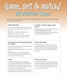 Game, Set and Match — Individual Project